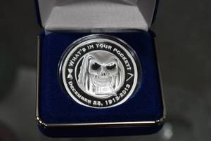 Rare 1 oz. .999 Silver Collectible Proof Round -The Reaper -Private Mint -WILL SHIP