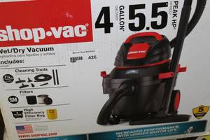 Shop- Vac 4 Gallon