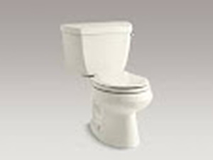Kohler Wellworth Round-Front Bowl, Tall Toilet, White