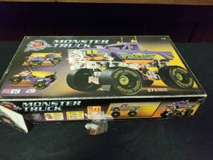 Monster Truck Mega Blocks Builder Set