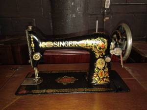 Singer Sewing Machine w/Treadle