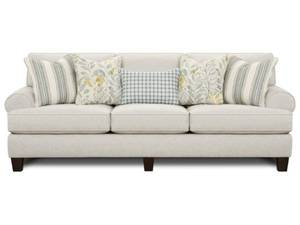 Fusion Furniture 4200-KP sofa and pillows