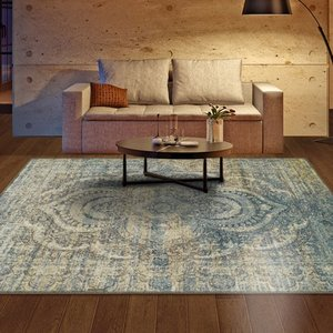 Superior Salford Collection with 10mm Pile and Jute Backing, Moisture Resistant and Anti-Static Indoor Area Rug