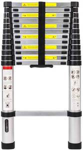 Aluminum Telescoping Telescopic Extension Ladder