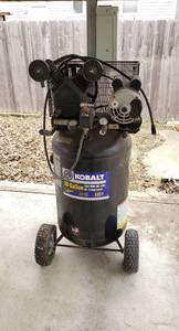 Kobalt 30 Gallon Cast Iron/Oil Lube Air Compressor