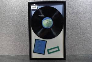 Framed Beatles 1967-1970 Album Disc 2 Record -WILL SHIP