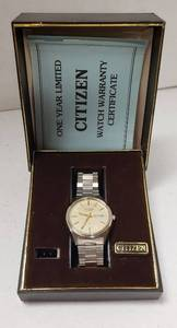 Citizen Quartz Stainless Steel Watch ~ 2100-891660SMT - 34-9496 (Serial #41105386)
