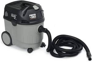 PORTER-CABLE 7812 10-Gallon 1-1/2-Horsepower Tool-Start Wet/Dry Vacuum, PORTER-CABLE 7800 4.7 Amp Drywall Sander with 13-Foot Hose