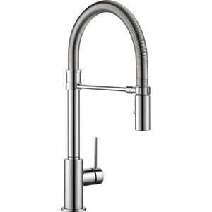 Delta Trinsic Single Handle Pull-Down Kitchen Faucet with Spring Spout i
