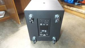 Harbinger vari V2218S powered subwoofer