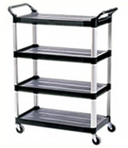 Rubbermaid X-Tra 4 Shelf Cart Model 4096-00