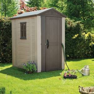 Keter Factor 6ft. W x 4ft. D Resin Tool Shed