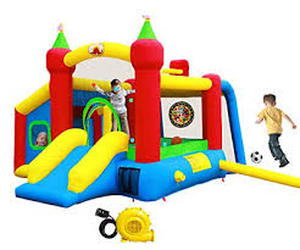 Wellfuntime Inflatable Bounce House,jumping Castle