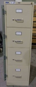 Staples 4 Drawer Vertical File Cabinet