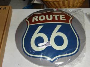 New Route 66 Sign