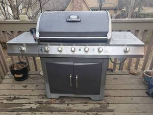 Brinkman Propane Grill with Cover