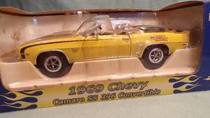 1969 Chevy Camaro SS 396 Convertible Die Cast Bank