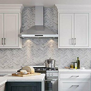 CAVALIERE Range Hood 30  Inch Wall Mount Stainless Steel Kitchen Exhaust