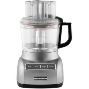KitchenAid 9-Cup Food Processor - Contour Silver KFP0922