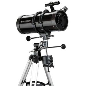 Celestron - PowerSeeker 127EQ Telescope - Manual German Equatorial Telescope for Beginners - Compact and Portable - BONUS Astronomy Software Package - 127mm Aperture