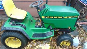 John Deere GT262 - ran when parked - mowing deck