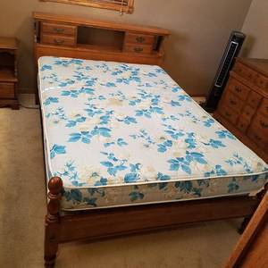 3 piece bedroom set with mattress set - Yorktown by Flanders - must take all