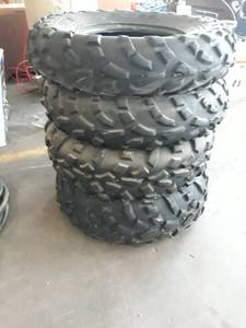AT489 Tires 25 x 8.00  Set of 4