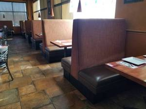 (5) Double Sided Restaurant Booths, (2) Half Booths