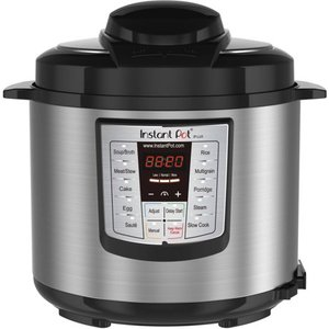 Instant Pot 6-in-1 Pressure Cooker 6 qt - Stainless Steel (Silver)
