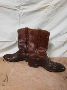 Justins 10.5 Mens All Leather Boots