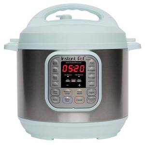 Instant Pot Duo60 6-qt. 7-in-1 Programmable Pressure Cooker, Turquoise/Blue, 6 QT