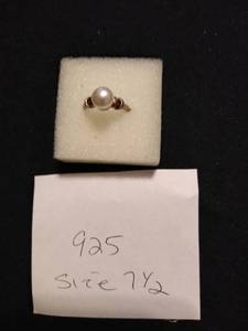 925 Ring Size 7.5