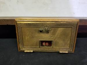 Vintage Post Office Bank Box ~ Lock Box