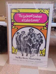 The Cockeyed Cowboys of Calico County - Movie Poster