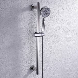 KES Shower Slide Bar with Adjustable Handheld Shower Polished Chrome
