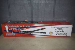 American Power Pull 1 Ton Drive Ratchet Cable Puller