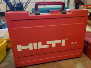 Hilti DX 35 Power Actuated Tool in Original Case