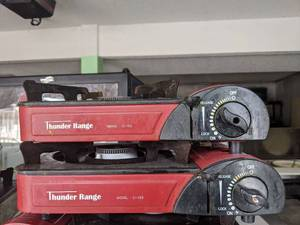 (2) Red Thunder Range Single Burner