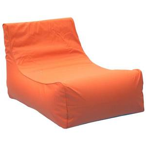 Ocean Blue Aruba Inflatable Lounge Chair in Orange