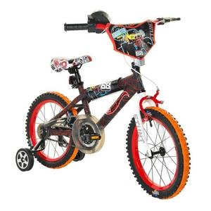 Hot Wheels 16 inch Kids Bike - Black/Red, Boy's