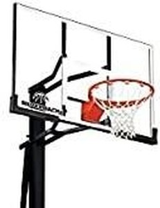 Silverback Basketball Goal, Black, Some Parts/Pieces May Be Missing