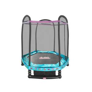 L.O.L. Surprise! 7' Enclosed Trampoline with Safety Net, Kids Unisex