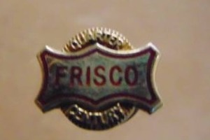 Frisco RR 25 Year Service Pin