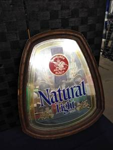 Natural Light Bar Mirror