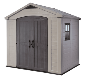 Keter factor 8 x 6 shed NOT INSPECTED OUTSIDE OF BOX