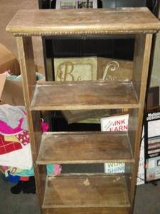 Wood Small Book Shelf