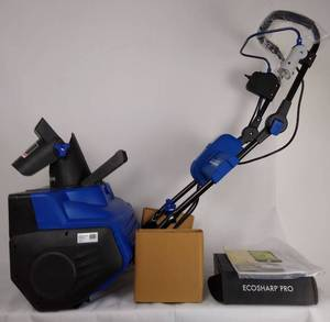 Snow Joe iON21SB PRO Cordless Single Stage Snow Blower 21 Inch 5 Ah Battery 40 Volt