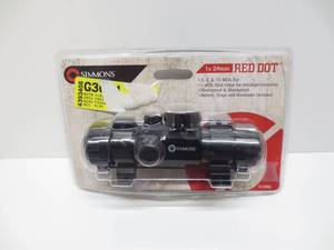 Simmons Red Dot 1x24 Model 511006C (Open Package)