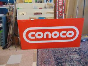 3 ft. x 6 ft. Conoco Oil Sign