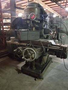 Kearney & Trecker Milwaukee Rotary Milling Machine
